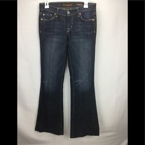 Fossil Mid Rise Flare Leg Jeans Size 26